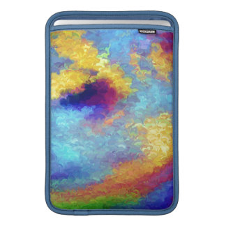 Rainbow Reflections in Water MacBook Air Sleeve
