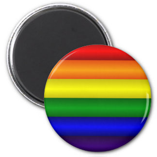 Rainbow Refrigerator Magnet
