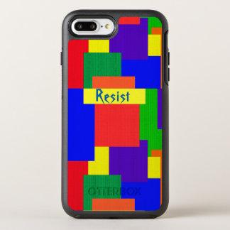 Rainbow Resist Quilt OtterBox iPhone 7 Plus Case