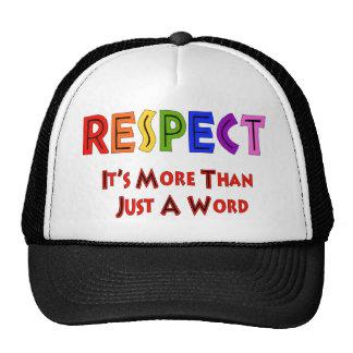Rainbow Respect Hat