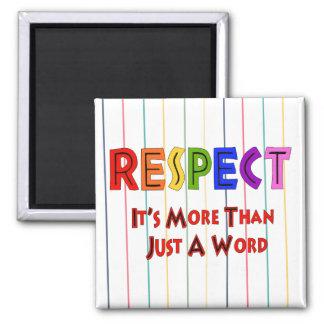 Rainbow Respect Fridge Magnet