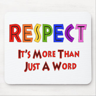 Rainbow Respect Mouse Pad