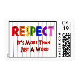 Rainbow Respect Postage