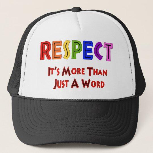 Rainbow Respect Trucker Hat