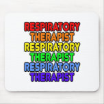 Rainbow Respiratory Therapist Mousepad