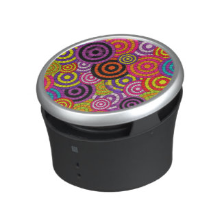 Rainbow Retro Abstract Pattern Bluetooth Speaker