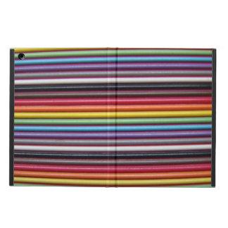 Rainbow Ribbon Cable Horizontal iPad Air Case
