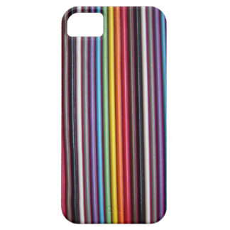 Rainbow Ribbon Cable Texture iPhone 5 Case