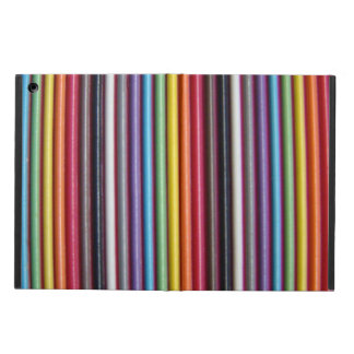 Rainbow Ribbon Cable Vertical iPad Air Case