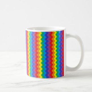 Rainbow Rickrack Mug