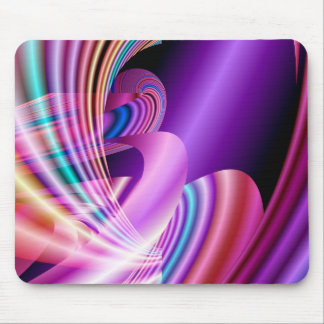 Rainbow Ride Fractal Mousepad