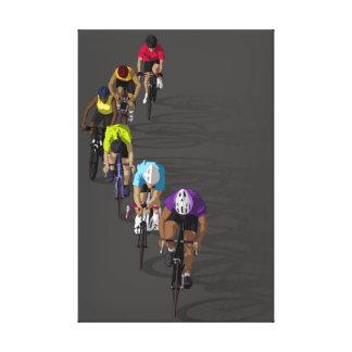 Rainbow Riders Canvas Print