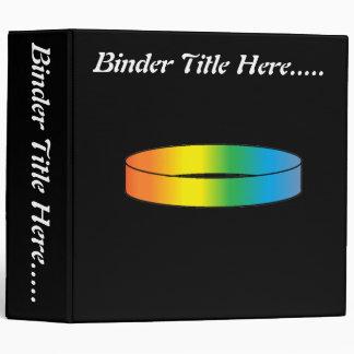 "Rainbow Ring 2"" Binder"