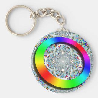 Rainbow Ring Keychain