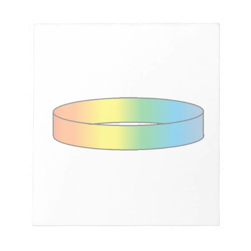 Rainbow Ring Memo Notepads