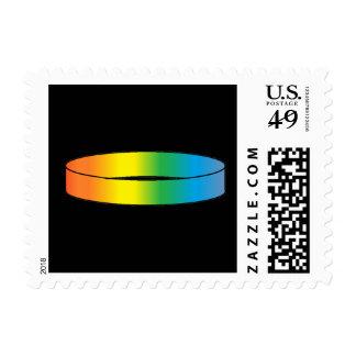 Rainbow Ring Postage
