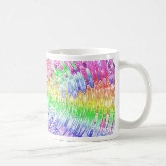Rainbow Ripple Coffee Mug