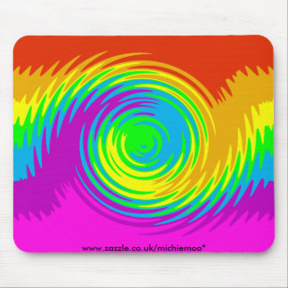 Rainbow Ripple Mousemat Mouse Pad