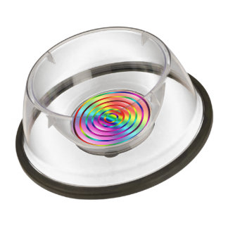 Rainbow Ripples Bowl