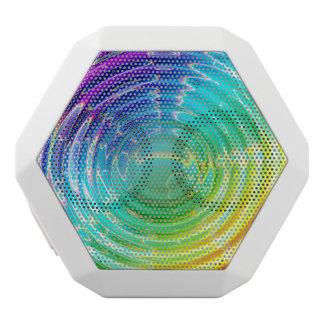 Rainbow Ripples.jpg White Boombot Rex Bluetooth Speaker
