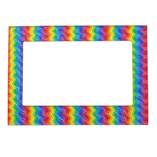 Rainbow Ripples Magnetic Frame