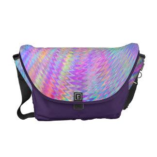 Rainbow Ripples Messenger Bags