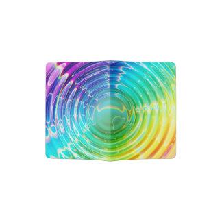 Rainbow Ripples Passport Holder