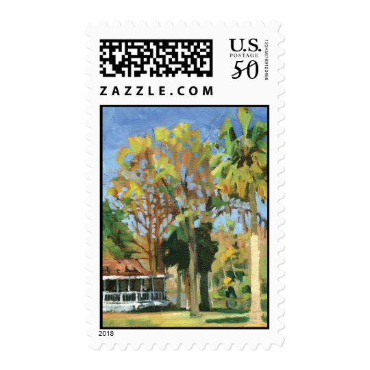 Rainbow River postage stamp