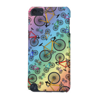 Rainbow road bikes iPod touch (5th generation) cover