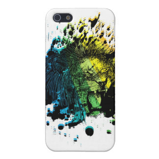 Rainbow Roaring Lion Cover For iPhone SE/5/5s