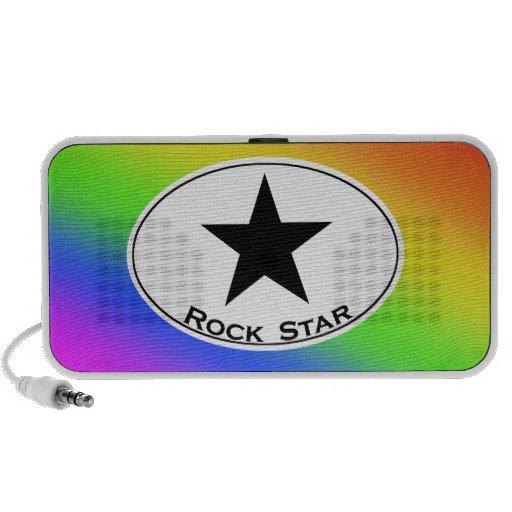 Rainbow Rock Star Speaker