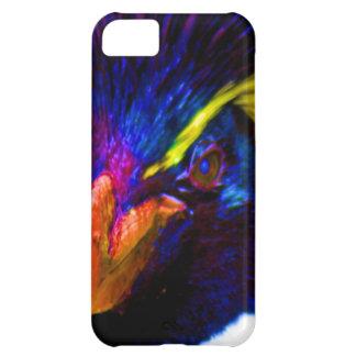 Rainbow Rockhopper Penguin iPhone 5C Case