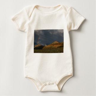 Rainbow Rocky Mountain National Park Baby Bodysuit