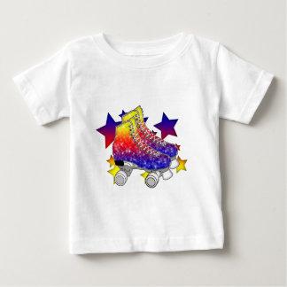 Rainbow Rollerskates Baby T-Shirt