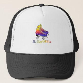 Rainbow Rollerskates Trucker Hat