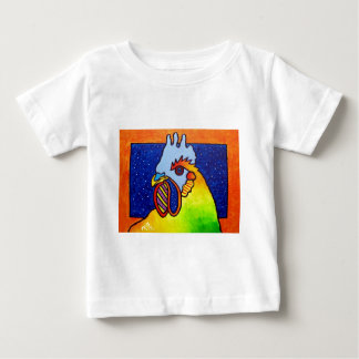 Rainbow Rooster 4 by Piliero T Shirt