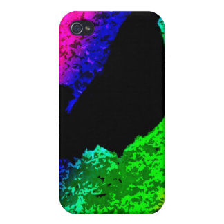 Rainbow Rooster iPhone 4/4S Cover