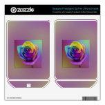 Rainbow Rose Flower FreeAgent GoFlex Decal