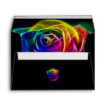 Rainbow Rose Fractal Envelopes