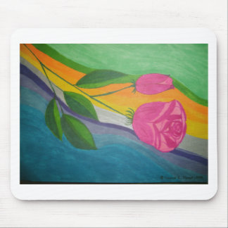 Rainbow Rose.jpg Mouse Pad