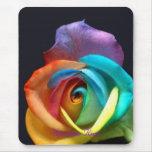 Rainbow Rose Mouse Pad