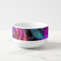 Rainbow Roses Soup Mug