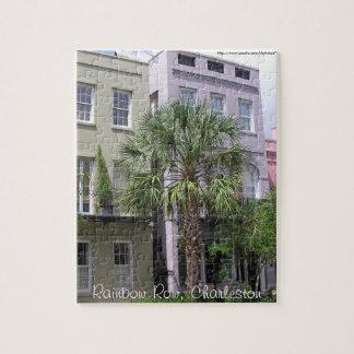 Rainbow Row, Charleston Puzzle
