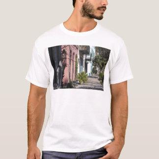 Rainbow Row Charleston SC T-Shirt