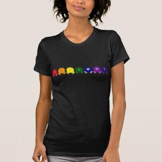 Rainbow Row Pom Pom Pals T Shirt