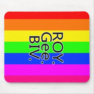 Rainbow RoyGeeBiv - LGBT Mouse Pad
