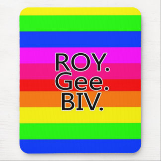 Rainbow, ROYGeeBiv - Roygbiv Mouse Pad
