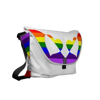 Rainbow Runner Courier Bag