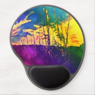 Rainbow Rural Landscape Gel Mousepad