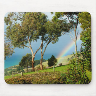 Rainbow Rural Serenity Mouse Pad